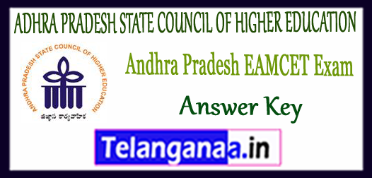 AP EAMCET ADHRA PRADESH STATE COUNCIL OF HIGHER EDUCATION Set A B C D Answer Key Cut Off 2018