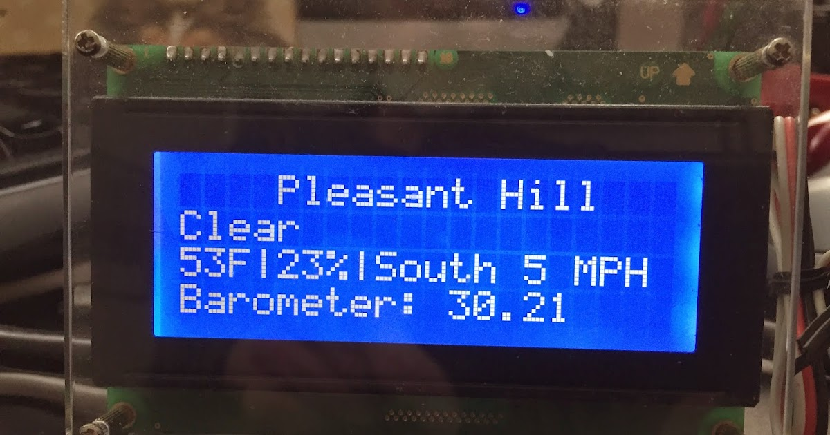 ESP8266 Wifi Weather Station + Display - Need Help With My Project