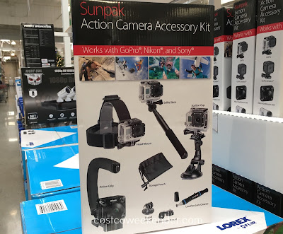 Capture your extreme moments with the Sunpak Action Camera Accessory Kit