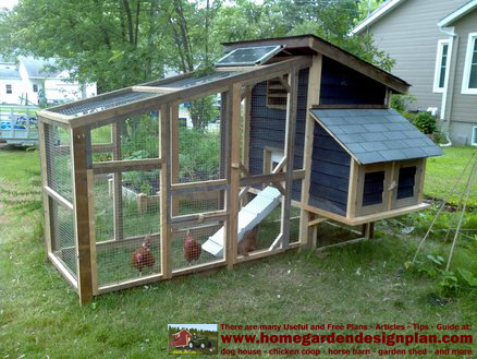 Home garden plans s100 building success chicken coop for Chicken coop for 8 10 chickens