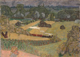 Train and Bardes by Pierre Bonnard - Landscape Paintings from Hermitage Museum