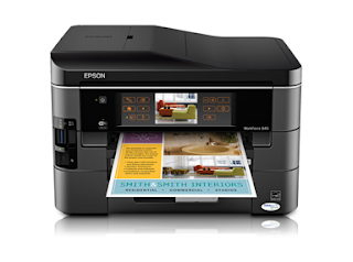 Epson WorkForce 845 driver download Windows, Mac, Linux