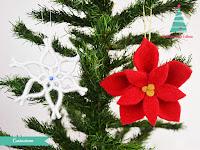 decorazioni natalizie con infeltrimento maglioni