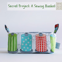 A Sewing Basket by www.madebyChrissieD.com