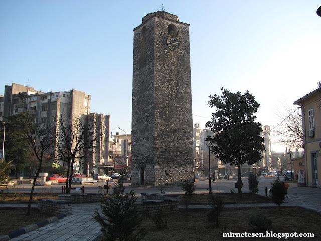 Подгорица - Башня с часами в центре
