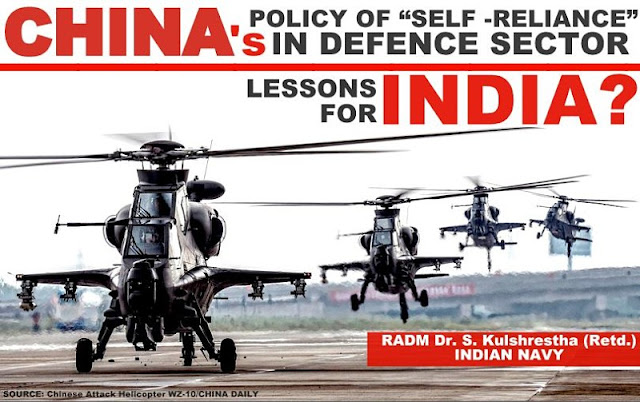 """FEATURED   China's Policy of """"Self-Reliance"""" in Defence Sector - Lessons for India?"""