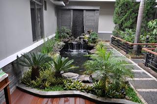gambar jasa pembuatan taman di ampenan lombok