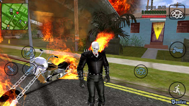 HD Realistic SA Revolutionary Mod Pack Android with ghost rider mod pack download gtaam