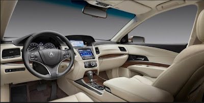 2016 Acura RLX Sport Hybrid Interior