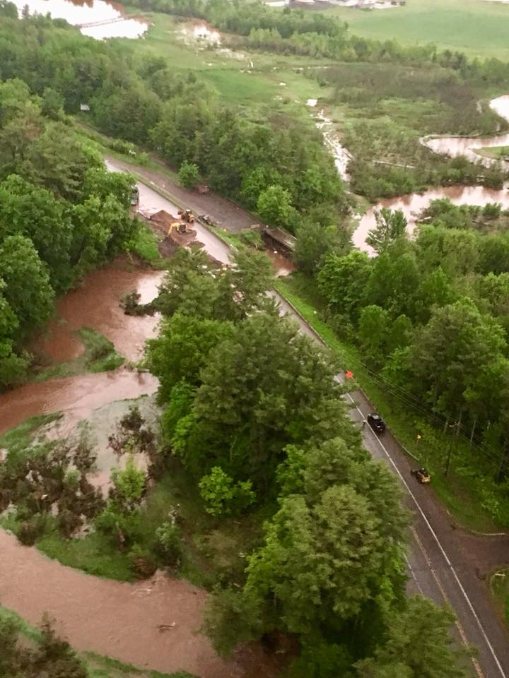Keweenaw Now: Father's Day storm impacts roads
