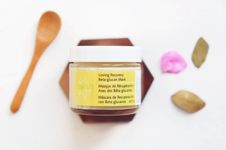 Blissoma Lavish Loving Recovery Beta-glucan Mask.