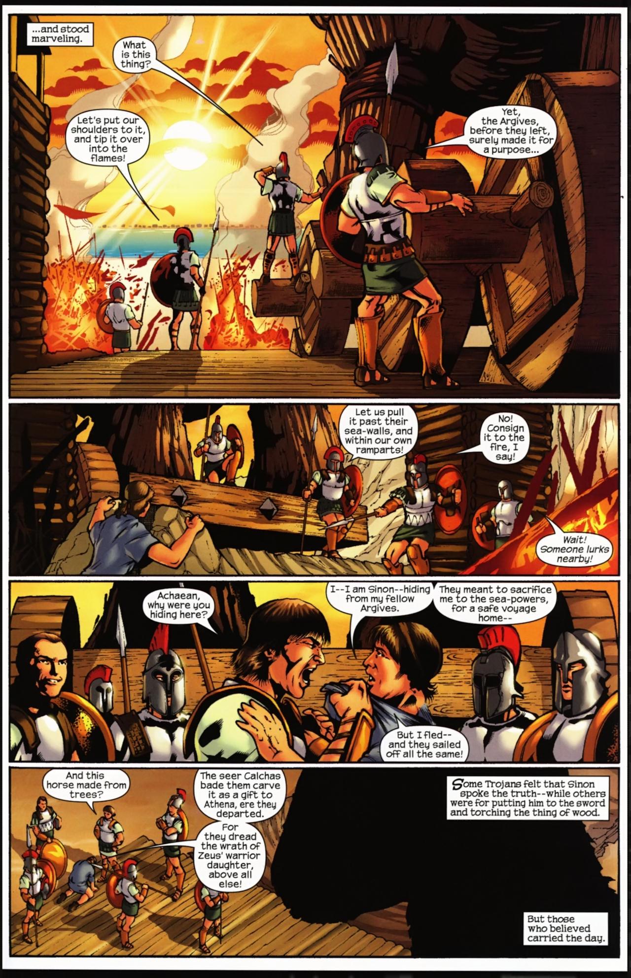 Read online Trojan War comic -  Issue #4 - 32