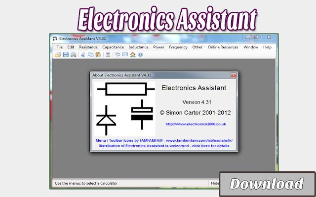 Download Electronics Assistant V4.31 | Kalkulator / Info & Softwares Elektronika