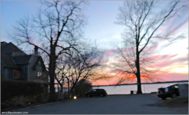 Atardecer Bristol, Rhode Island