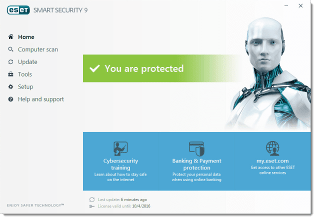 Download ESET Nod32 9 with Username & Password With License + Activation Keys (2017) at XPCMasti.blogspot.com