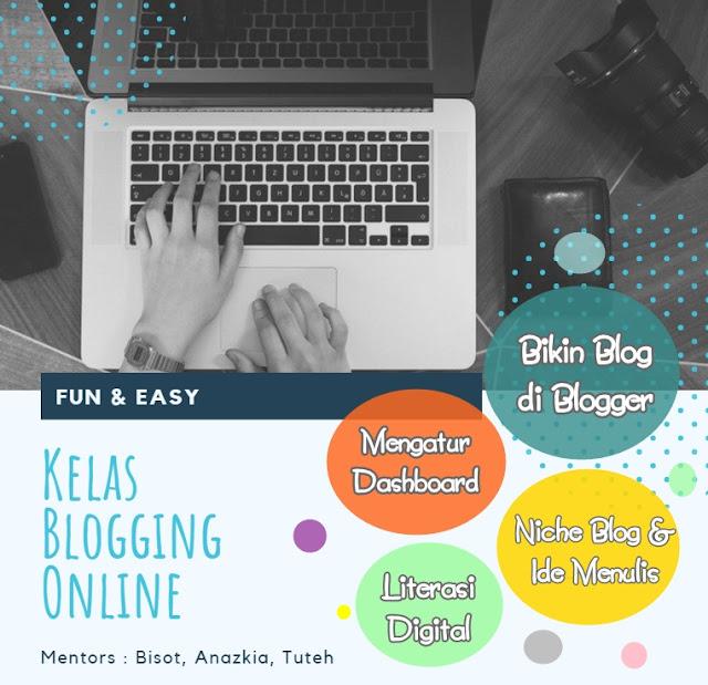 5 Kelas Blogging