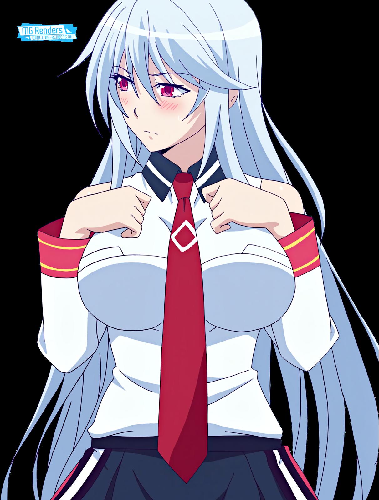 Tags: Anime, Render,  Chidorigafuchi Aine,  Masou Gakuen HxH,  Skirt,  PNG, Image, Picture