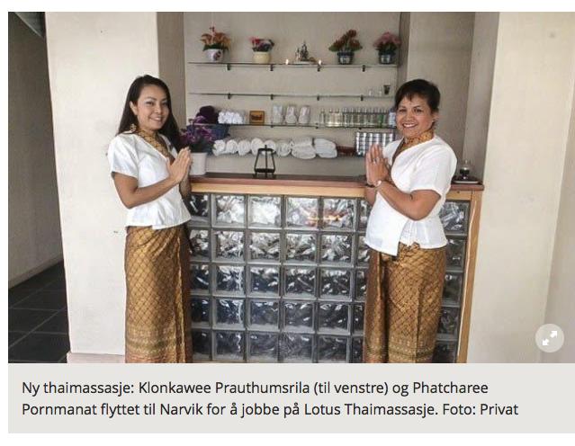 in norway massasje thai oslo