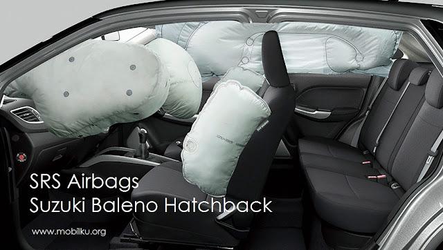 safety, suzuki, baleno, hatchback, harga, interior, keselamatan, airbags, sabuk pengaman, kursi, penumpang