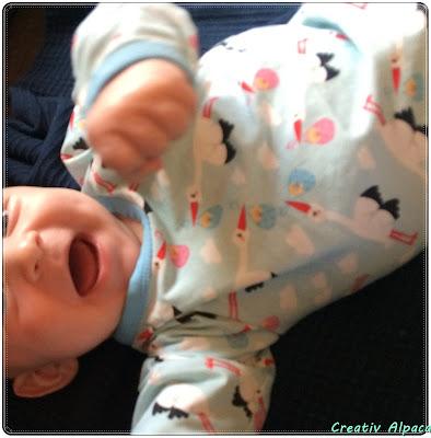 Baby Kleiner Mann Strampler