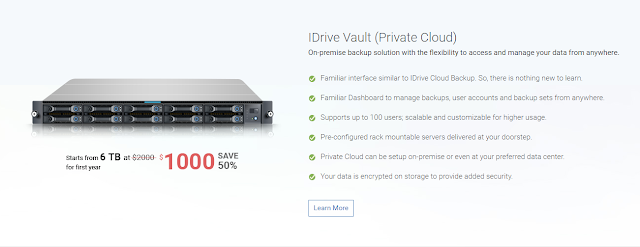 Best IDrive Vault Backup