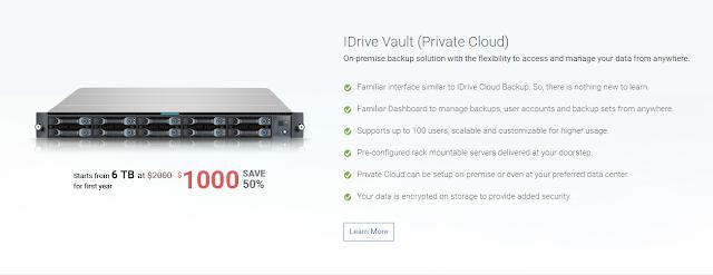 Best IDrive Vault Backup