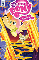 MLP IDW Friends Forever #32 Comic Main Cover by Tony Fleecs