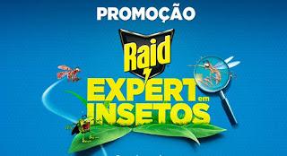 """Promoção """"Raid Expert em Insetos"""""""