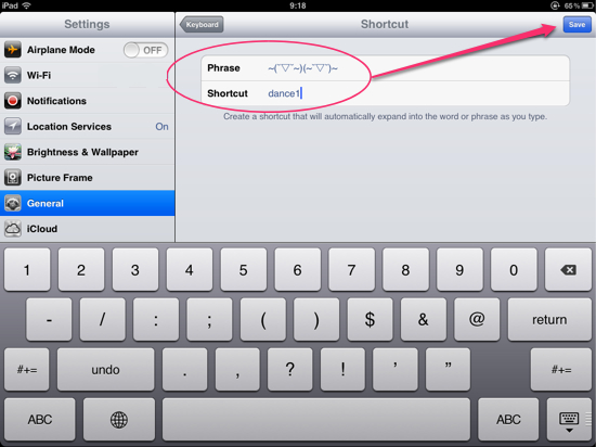 BB Emoticon On iPhone iPad