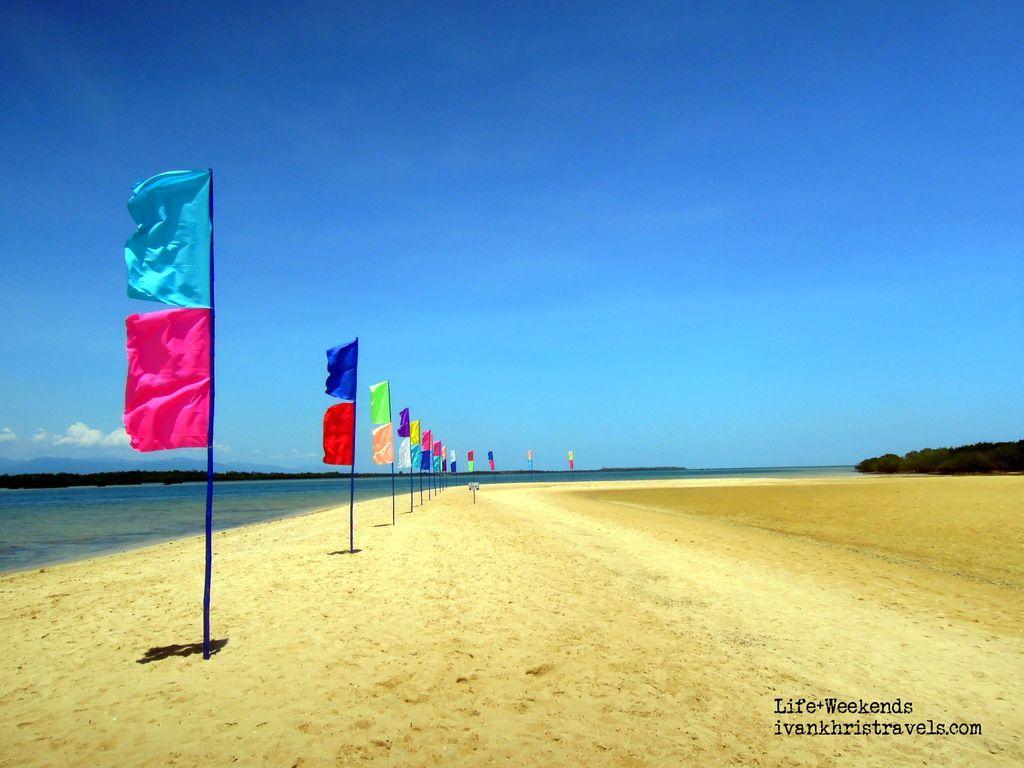 Honda Bay Island Hopping Tour flaglets