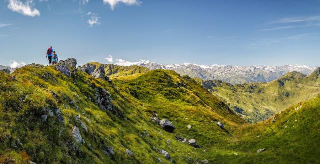 escursione trekking saalbach