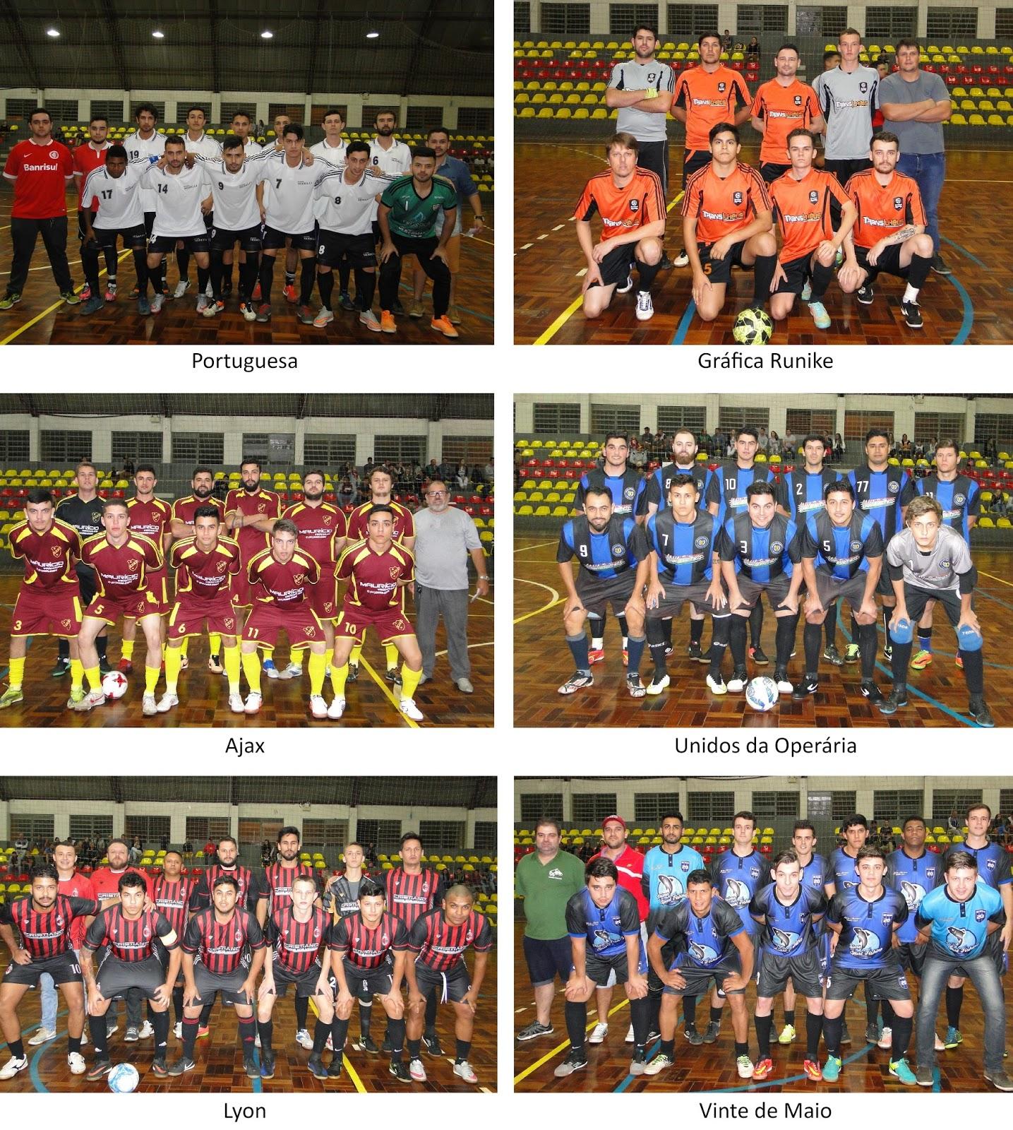 Esporte Campo Bom 2019  Rola a bola no Futsal Série Bronze c7cb753f26165