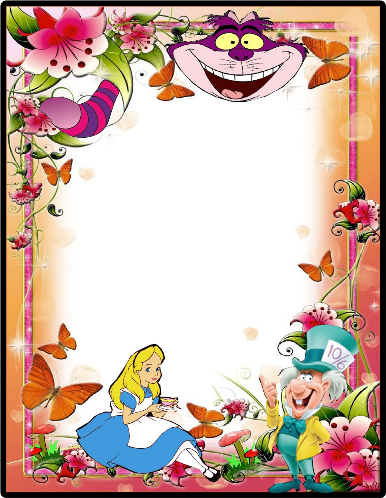 HollysHome Family Life: Alice in Wonderland, Mad Hatter Party, Free ...