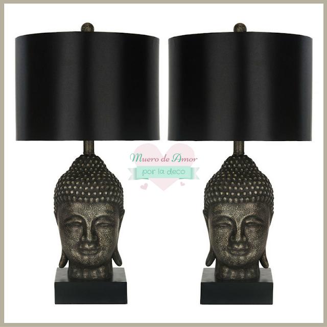 Lámparas de estilo oriental con mucho glamour