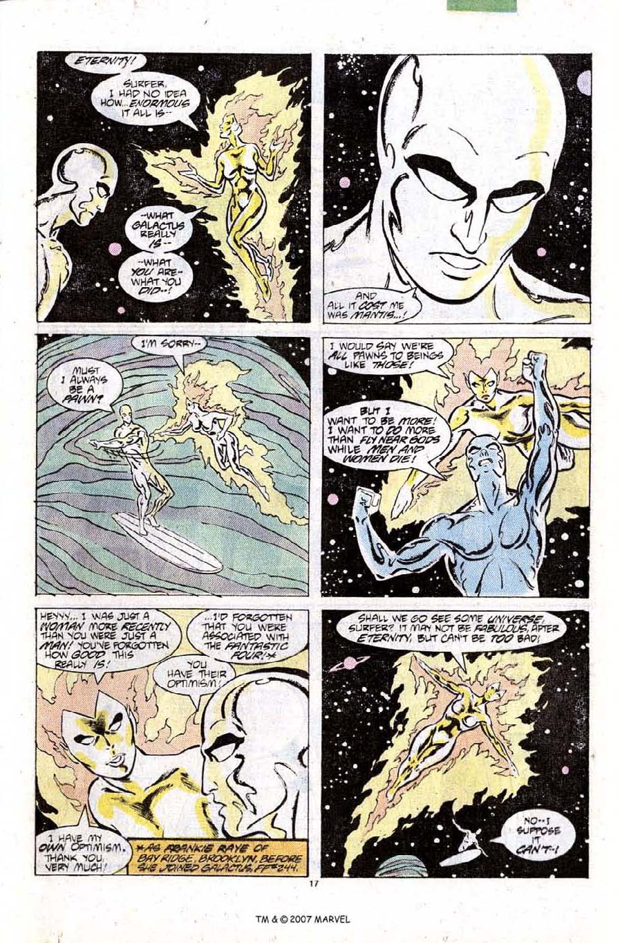 Read online Silver Surfer (1987) comic -  Issue #10 - 25