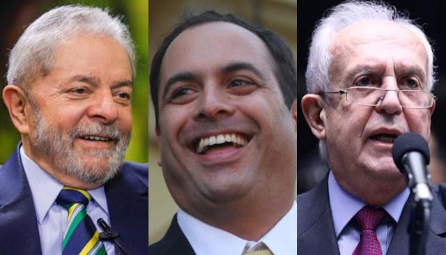 ELEIÇÕES 2018: Lula, Paulo Câmara e Jarbas lideram na pesquisa eleitoral de Pernambuco