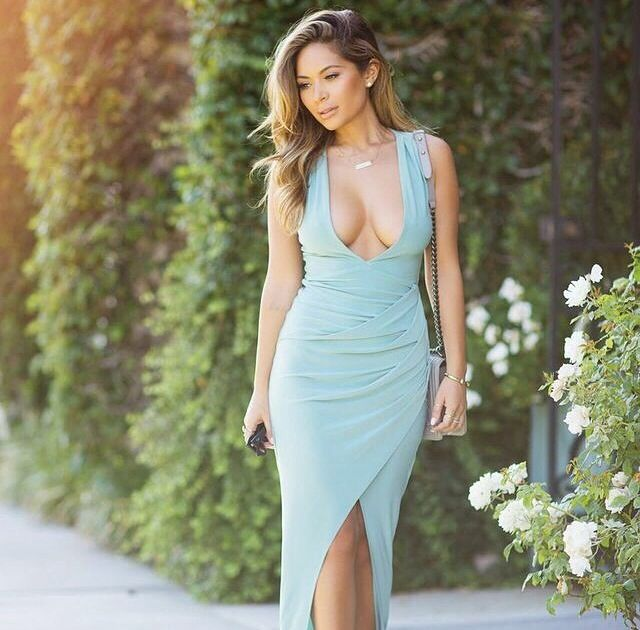 Marianna Hewitt  - House of CB Mint Dress
