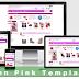 Toko Fashion Blogspot dengan Zen Pink Template
