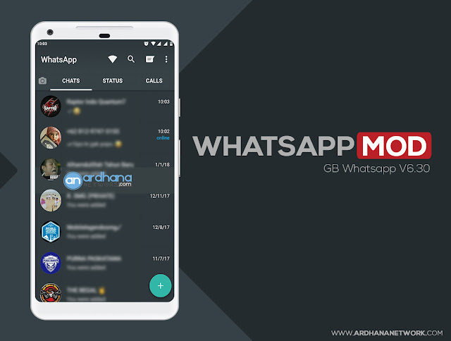 GB Whatsapp V6.30 - Whatsapp MOD