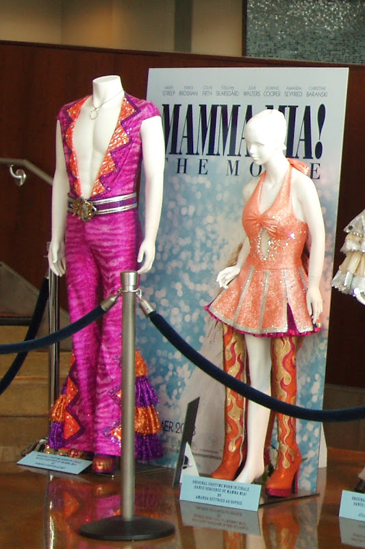 Mamma Mia Movie Dominic Cooper Amanda Seyfried finale costumes