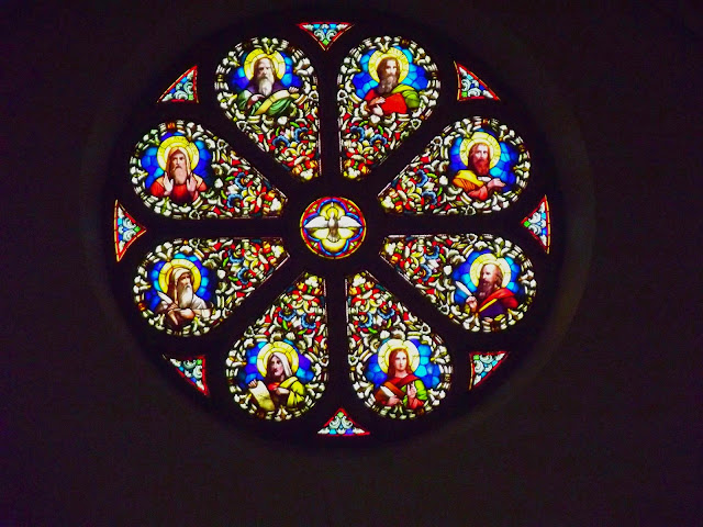 St. Meinrads Stained Glass Window