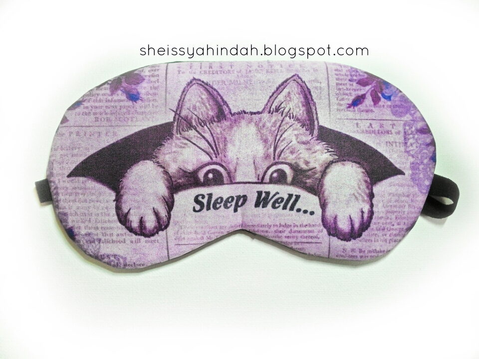 sleeping mask purple beauty