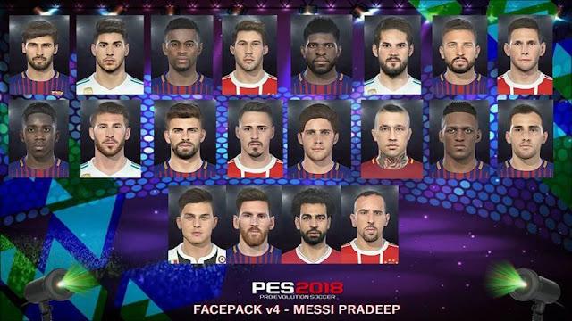 New Facepack PES 2018