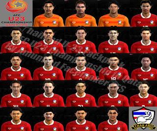 Thailand Facepack 2016 Sub 23 Pes 2013