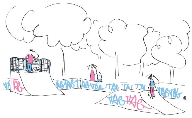 Mère Courage: Au Skatepark