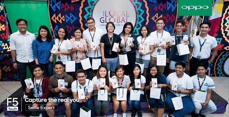 OPPO Shows Youth Support at the Unilab Foundation's Ideas Positive