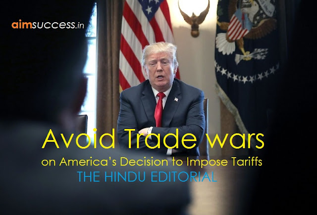 Avoid trade wars: THE HINDU EDITORIAL