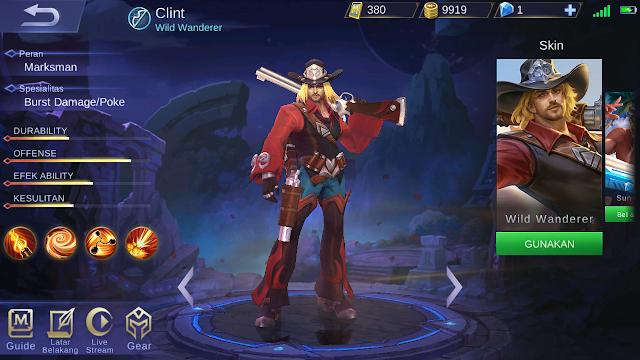 build item clint mobile legends terbaik dan terbaru 2018