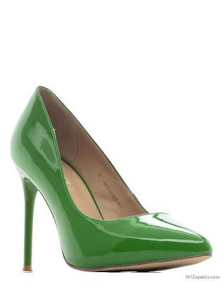 Tacones Verdes