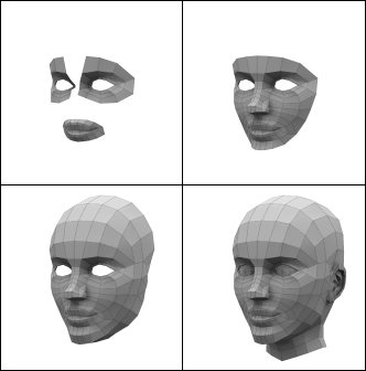Stages of Polygon Modelling